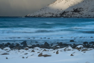 Lofoten 007 | Unstad Beach, Vestvågøy | Norwegen, Winter, Landschaftsfotografie, Bilder, Fotos, Landschaften