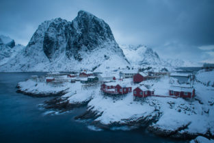 Lofoten 023 | Hamnoya, Moskenesøya, Lofoten | Norwegen, Winter, Landschaftsfotografie, Bilder, Fotos, Landschaften