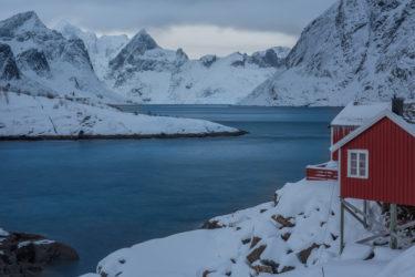 Lofoten 010 | Hamnoya, Moskenesøya, Lofoten | Norwegen, Winter, Landschaftsfotografie, Bilder, Fotos, Landschaften