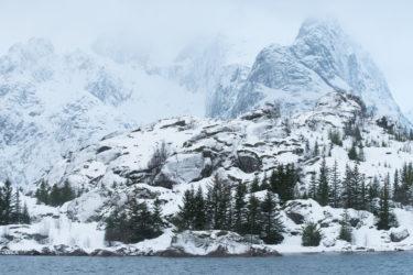 Lofoten 008 | Arktische Berglandschaft, Trollfjord | Norwegen, Landschaftsfotografie, Bilder, Fotos, Landschaften, Winter