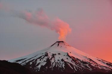 Vulkan Villarrica, Pucon, Region Araucanía, Patagonien, Chile