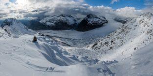 Panorama - Aletschgletscher, Schweiz