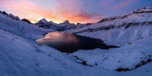 Panorama - Bachalpsee, Schweiz