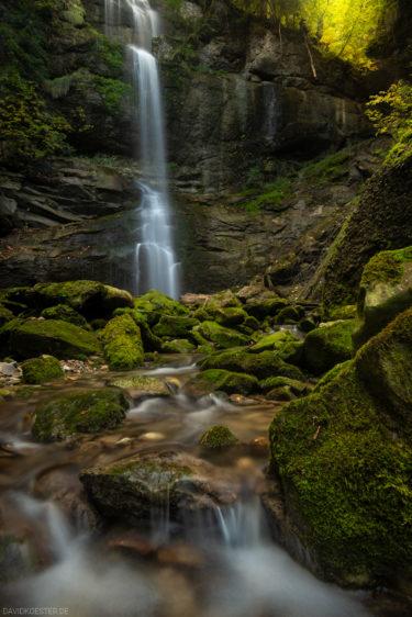 Wasserfall im Allgäu, Bayern