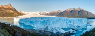 Panorama - Perito Moreno Gletscher, Patagonien