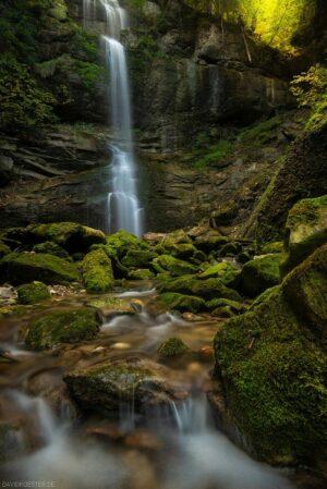 Deutschland - Wasserfall im Allgäu