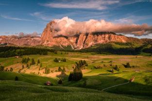 Dolomiten: Seiser Alm (Alpe di Suisi), Südtirol