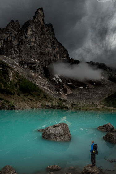 Lago di Sorapis, Wandern und Trekking in den Dolomiten, Belluno