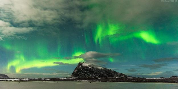 Lofoten #10 - Polarlichter auf Gimsoya, Norwegen