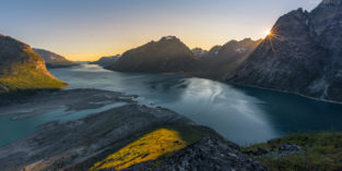 Grönland #22 - Panorama Tasermiut Fjord