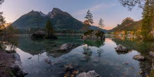 Deutschland #40 - Panorama Hintersee, Bayern