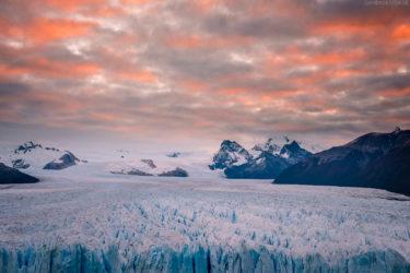 Patagonien: Eisfeld des Perito Moreno Gletscher, El Calafate, Argentinien