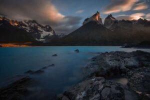 Patagonien: Lago Noerdenskjoeld, Torres del Paine Nationalpark, Chile