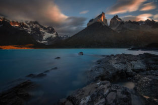 Patagonien: Lago Noerdenskjoeld, Torres del Paine Nationalpark, Chile