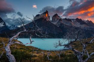 Patagonien, Lago Noerdenskoeld, Torres del Paine Nationalpark, Chile
