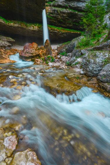 Slowenien - Wasserfall in den Julischen Alpen