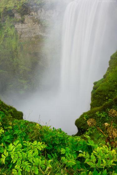 Island - Wasserfall Skogafoss