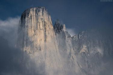 Grönland Landschaft: Steile Granitwände des Bergmassivs Ulamertorsuaq, Tasermiut Fjord, Nanortalik, Südgrönland