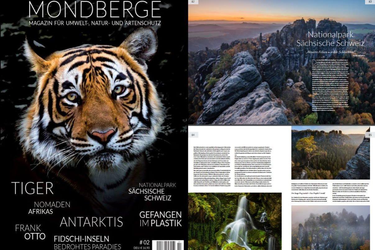 Sächsiche Schweiz, Bilder für Artikel in Mondberge Magazin von David Köster