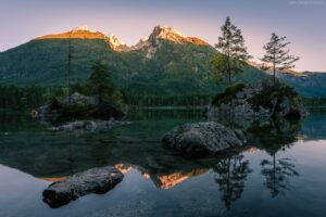 Hintersee, Ramsau, Berchtesgaden, Bayern