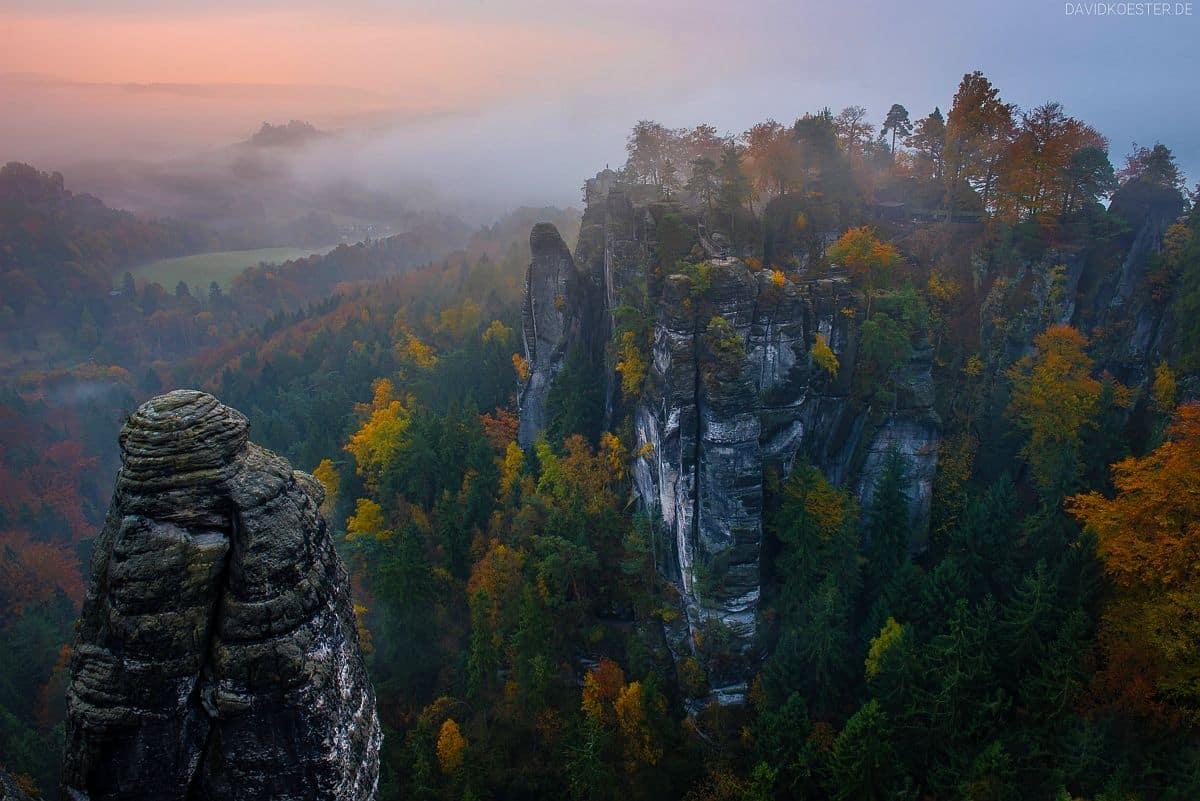 Fotoworkshop Elbsandsteingebirge Landschaftsfotografie