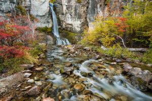 Patagonien: Wasserfall Salto El Chorrillo, El Chalten, Argentinien