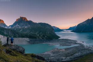 Grönland: Landschaftsfotografen über dem Tasermiut Fjord, Südgrönland