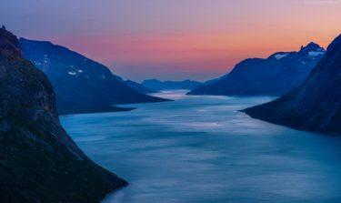 Grönland Landschaft: Tasermiut Fjord