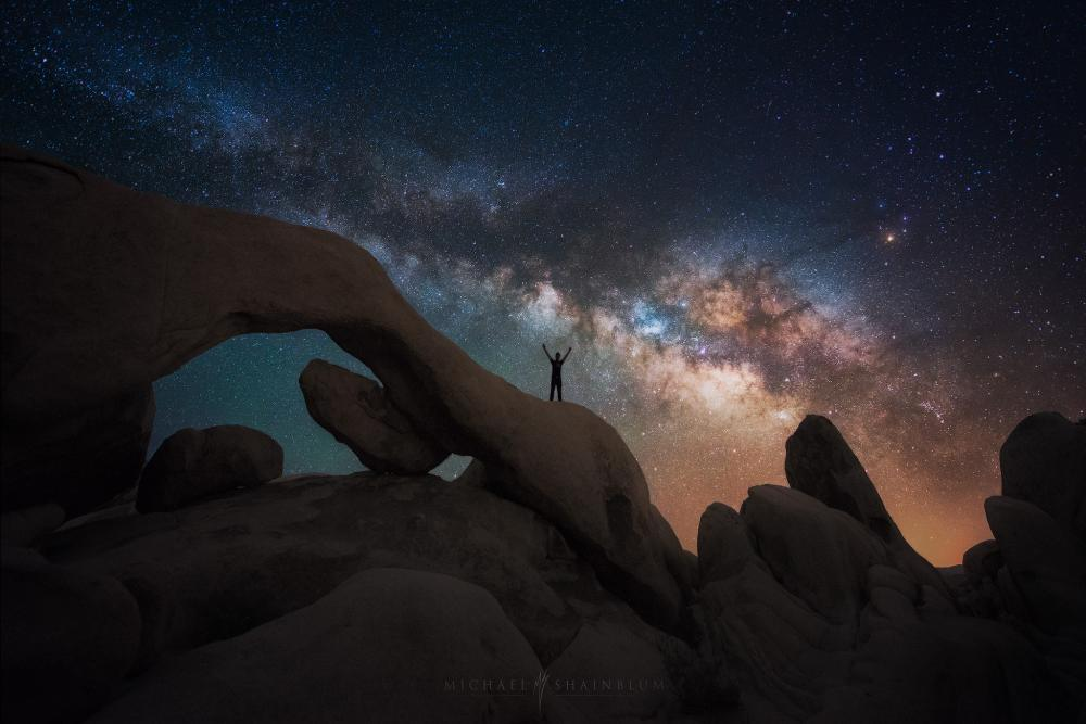Reach Out and Touch the Sky | (c) Michael Shainblum