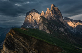 Dolomiten Bilder: Seceda, Südtirol