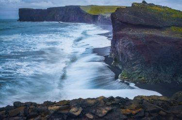 Island Bilder: Küste und Lavastrand zwischen Reynisdrangar und Vik i Myrdal