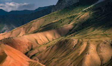 Kirgistan Berglandschaft im Pamir