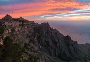 La Gomera Steilküste mit Blick auf Valle del Rey