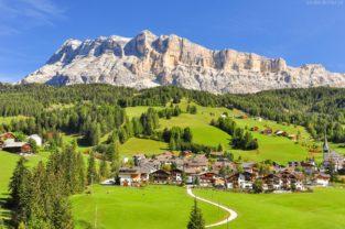Heilgkreuzkofel - Sasso di Santa Croce, Alta Badia, Gadertal, Dolomiten, Südtirol