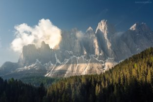 Dolomiten, Südtirol, Geislerspitzen, Geislergruppe