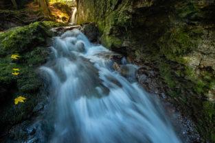 Geratser Wasserfall, Allgäu, Bayern
