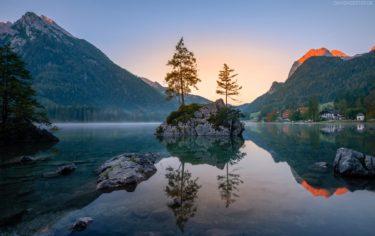 Hintersee, Ramsau, Berchtesgadener Land, Bayern