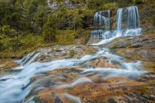 Weißbach Wasserfall, Weißnbachschlucht, Schneizelreuth, Berchtesgadener Land