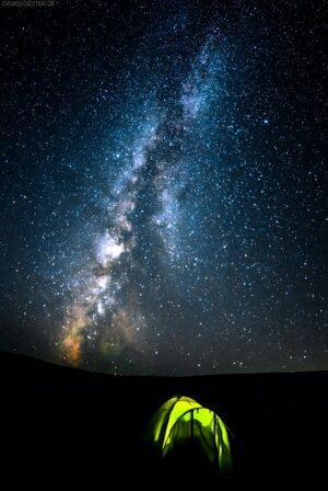 Kasachstan - Zelt unter der Milchstrasse