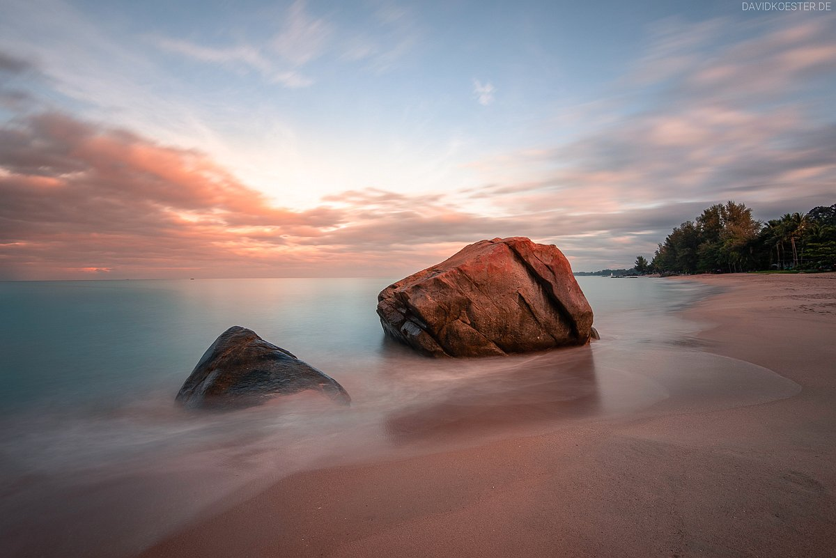 Strand bei Khao Lak, Thailand