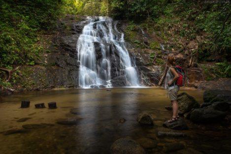 Wasserfall Ton Chong Fa, Lam Ru Nationalpark, Khao Lak, Thailand