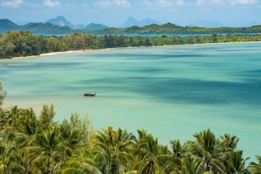 Strand auf Koh Yao Yai, Phang Nga Bay, Thailand