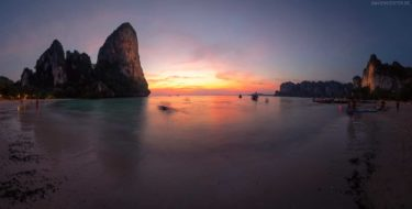 Strand von Railay Beach, Krabi, Thailand