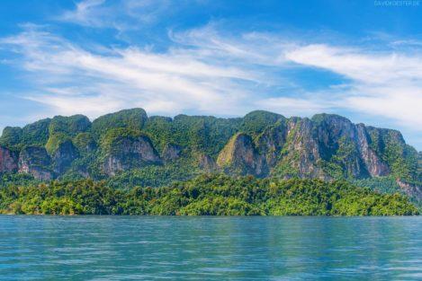 Cheow Larn Lake, Khao Sok Nationalpark, Thailand