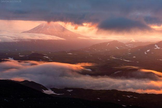 Kamtschatka Vulkanlandschaft