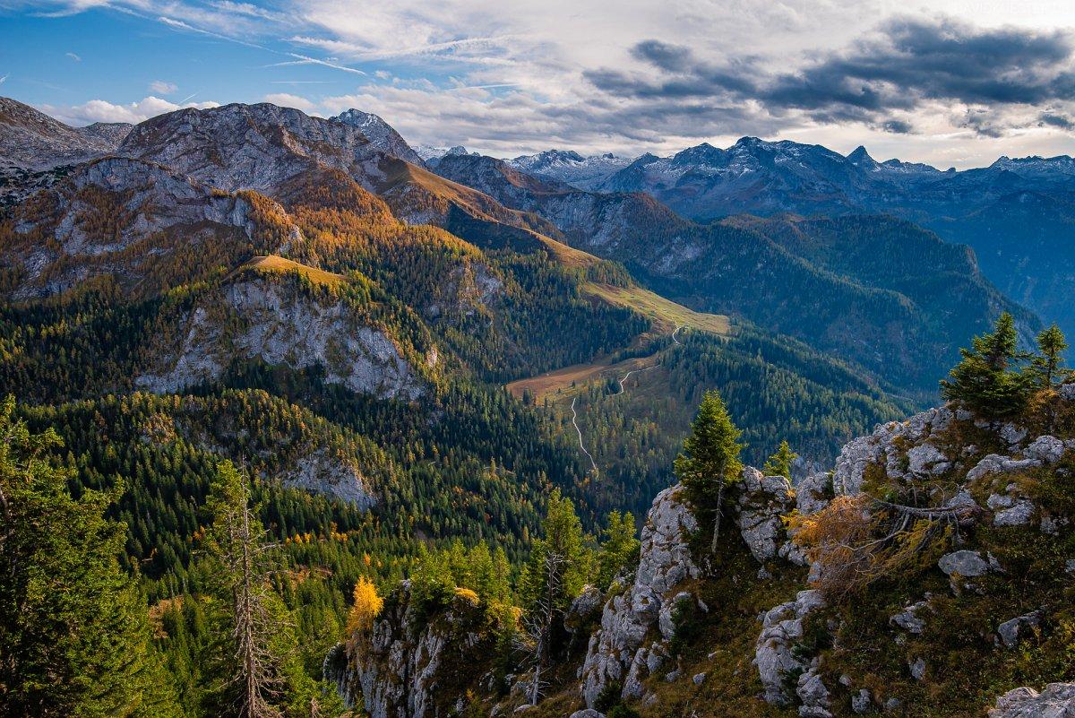 Deutschland - Berchtesgadener Alpen im Herbst