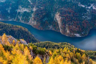 Deutschland - Königsee im Herbst