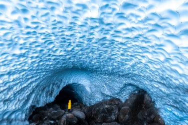 Eishöhle an der Watzmann Ostwand (Eiskapelle), Berchtesgadener Land