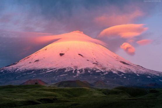 Kamtschatka Landschaft | Vulkan Klyuchevskoy, Klyuchevskaya Sopka, Sibirien, Russland