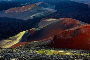 Kamtschatka Landschaft: Surreale Vulkanlandschaft mit Kratern